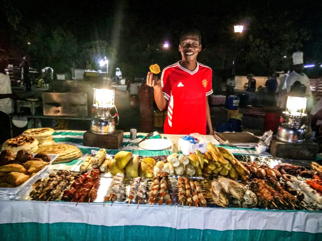 Fodorhani garden night market