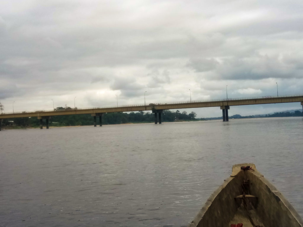 Lambarene bridge