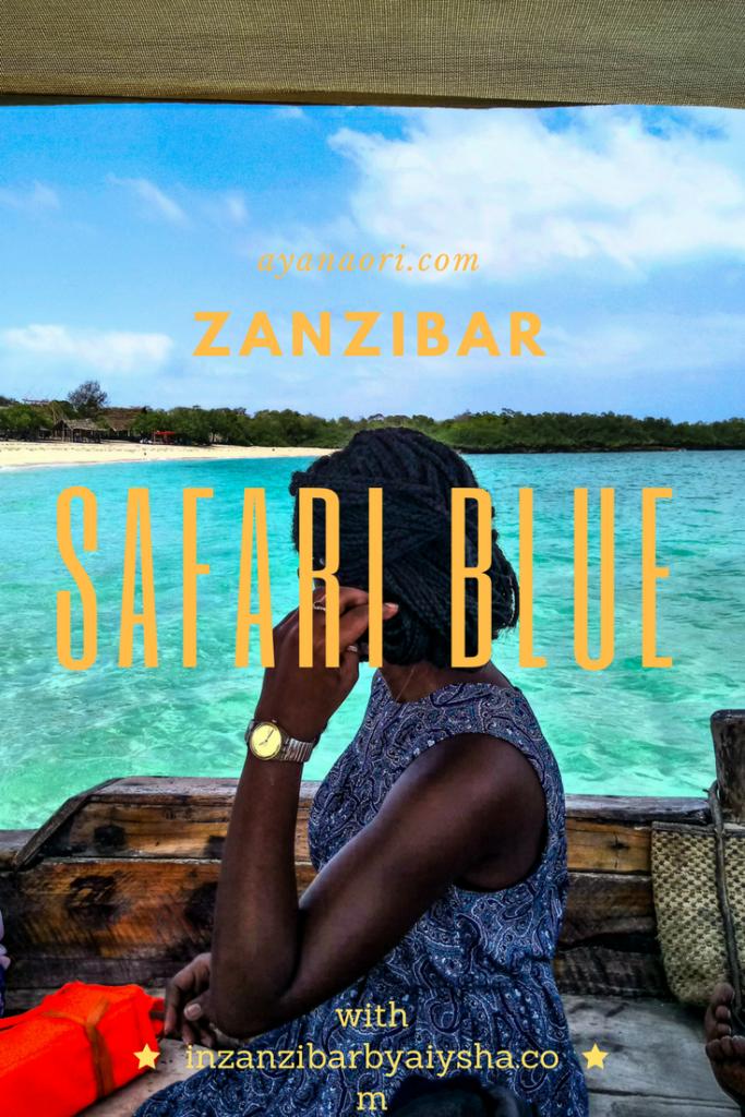 Exploring Menai bay in Zanzibar