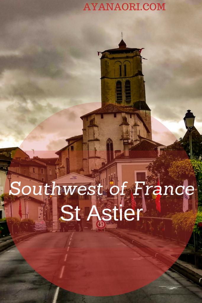 Saint Astier, southwest of France